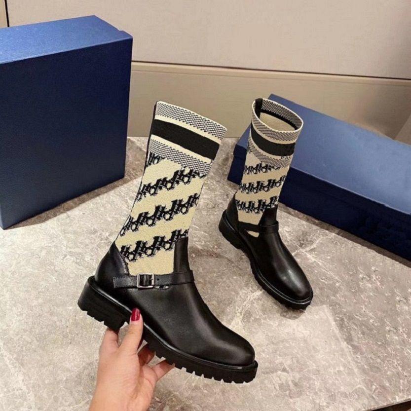 Mode Leder Stern Frauenaufladungen Martin kurz Herbst Winter Knöchel Exquisite Frauen Cowboy-Stiefel Booties B04 D6