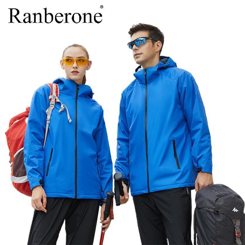 Giacca da uomo a vento da uomo Bomber Giacca da uomo in esecuzione impermeabile Vento Escursionismo Calda Giacca invernale Plus Size Sportswear Cappotti esterni Nuovo
