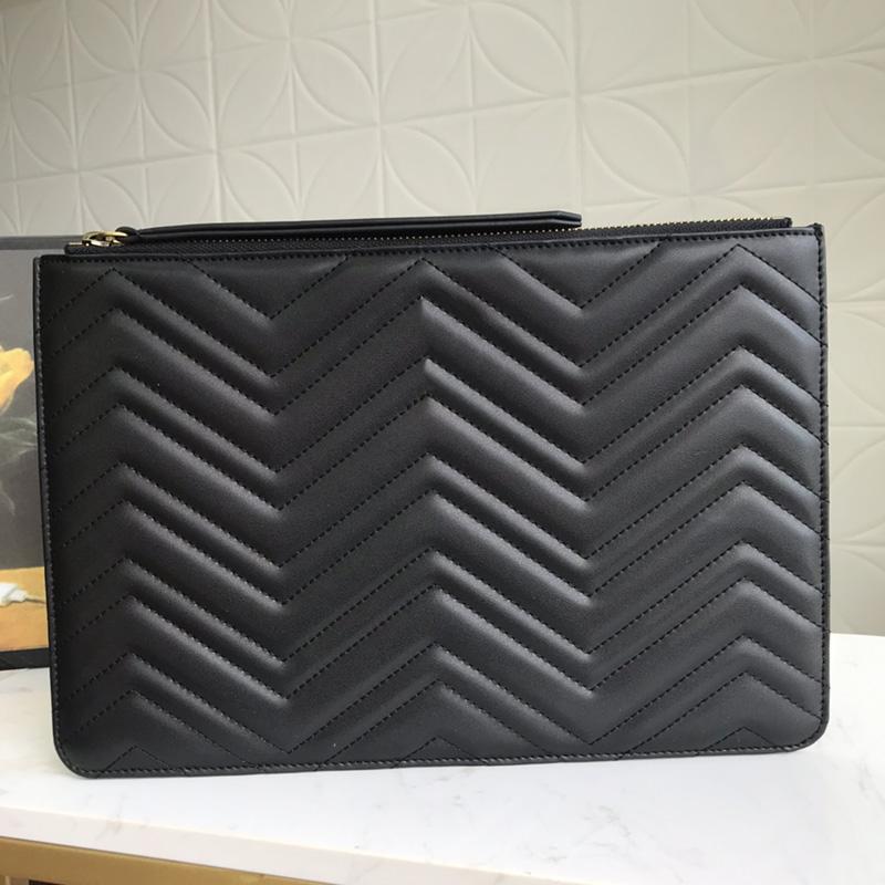 Lujos Diseñadores Bolsas Mujeres Chevron Bolsa Caja de cuero Bolsos MatelaSsé Bolsos de cuero con corazón Lady Con Pone Mermonts Black W MSXM