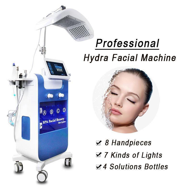 هيدرو آلة الوجه الجلد الغسيل الوجه رفع نظيفة متعددة الوظائف البثرة إزالة فراغ هيدرو آلة الوجه