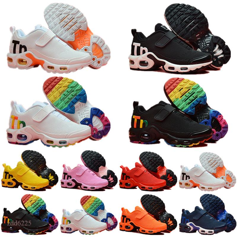 2021 Kids TN Plus Sports Running Shoes Children Boy Girls Trainers Tn kids Sneakers Classic Outdoor Toddler Sneakers