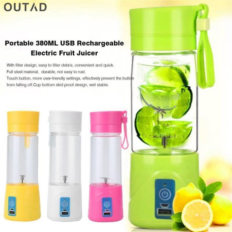 New Fashion and High Quality Portable Juicer Cup Coppa Batteria ricaricabile Blender 380ml USB Juicer1