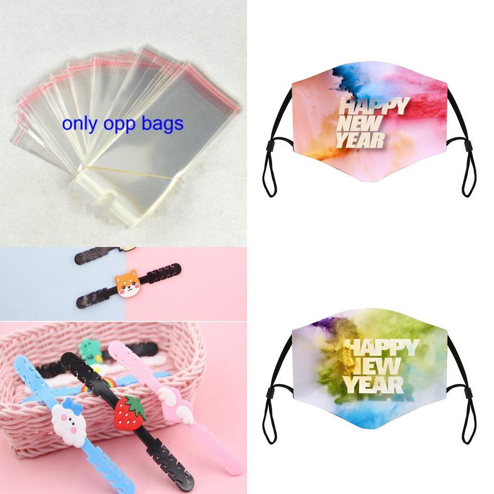 Mouth New Year Women Fashion Face 2021 Mask Happy Adjustable Bandage Tie Dye Designer Dustproof Maske Mascsrillas Mascaras Mas01