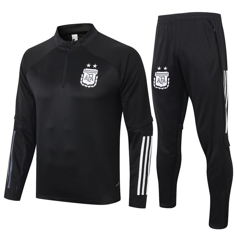 Nuovo 20 21 Argentina Football Jersey Abbigliamento sportswear 20 21 Football Jersey Training Tuta da uomo