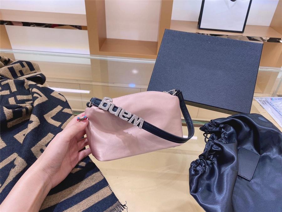 Оптовые- Fabra Handinsdiamond Bag 6 Color Европейская американская мода Новый PU ретро женщин посланник плеча нежелательный простой кошка рис ручка # 51833111