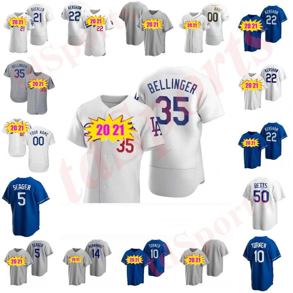 2020 Dodgers Hombres Mujeres Niños Cody Bellinger Justin Turner Clayton Kershaw Walker Buehler Mookie Betts Enrique Hernandez Baseball Jerseys