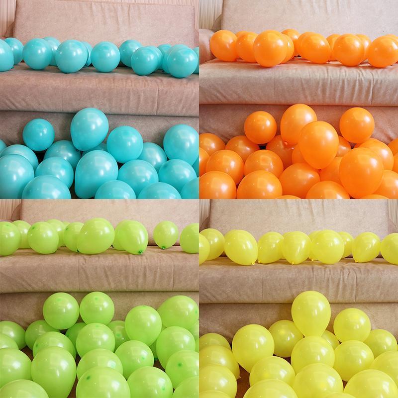 Kleiner Ballon 5inch Geburtstags-Party decrations aufblasbare Ballon-Babyparty Baloons Anniversaire Dekor-Kind-Spielzeug
