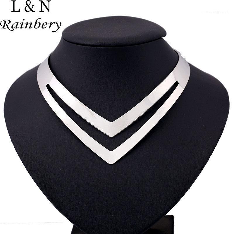 Chokers Rainbery 2021 Мода Bohemia Crystal Maxi Коллер Заявление Ожерелье Панк Стиль Стиль Длинные Этнические Choker Женщины1