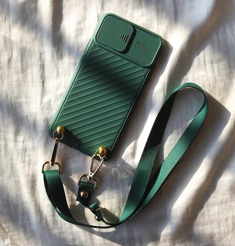 Soft TPU Handbag Telefono Casi Desinger Cassa del telefono Copertura TPU con tracolla per iPhone 7 8plus xr x max 11 12 Pro