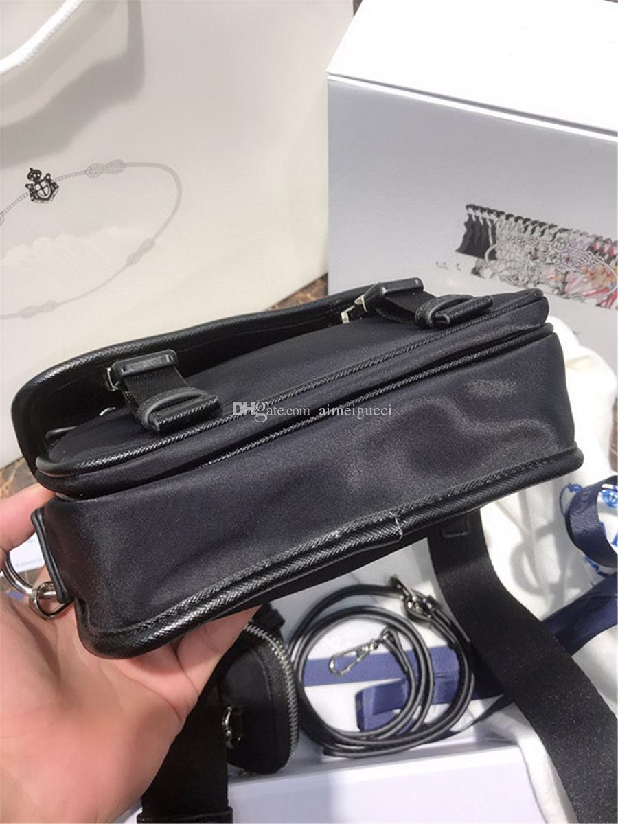 Top Qualität Neue Frauen Handtasche Taschen Schulter Nylon Leder Tote Designer Bag 2000 Luxus Crossbody Re-Edition SQHJA