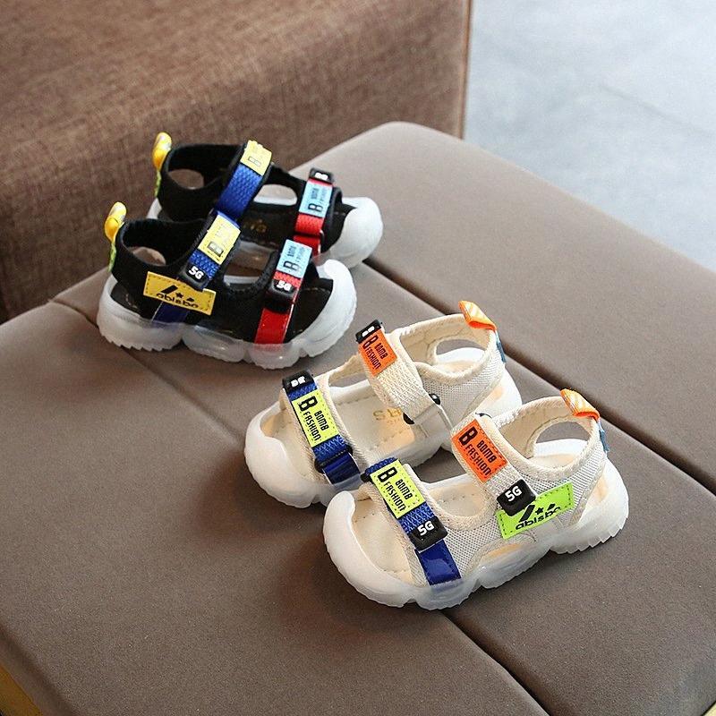 Güzel Moda Avrupa Yaz Sandalet Çocuk Yumuşak Nefes Rahat Çocuk Günlük Ayakkabılar Güzel Bebek Kız Erkek Ayakkabı Ucuz Ayakkabı 1jsJ #