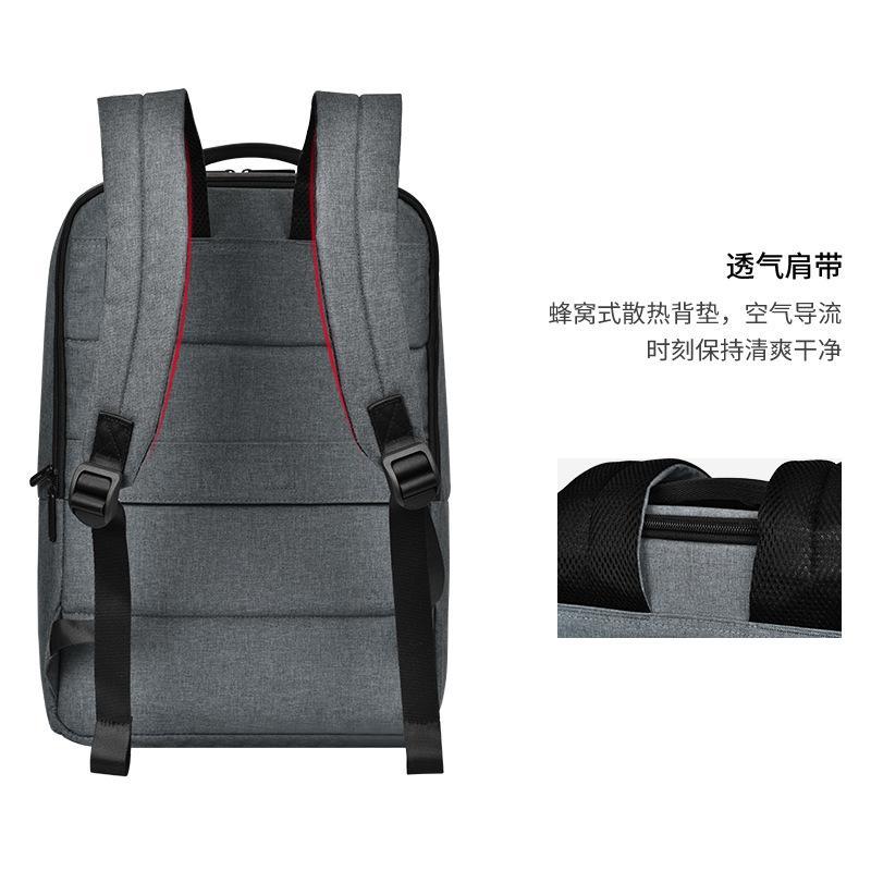 Новый рюкзак Mens Casual бизнеса Pure Color Computer Bag Многофункциональный водонепроницаемый рюкзак оптовой продажи фабрики
