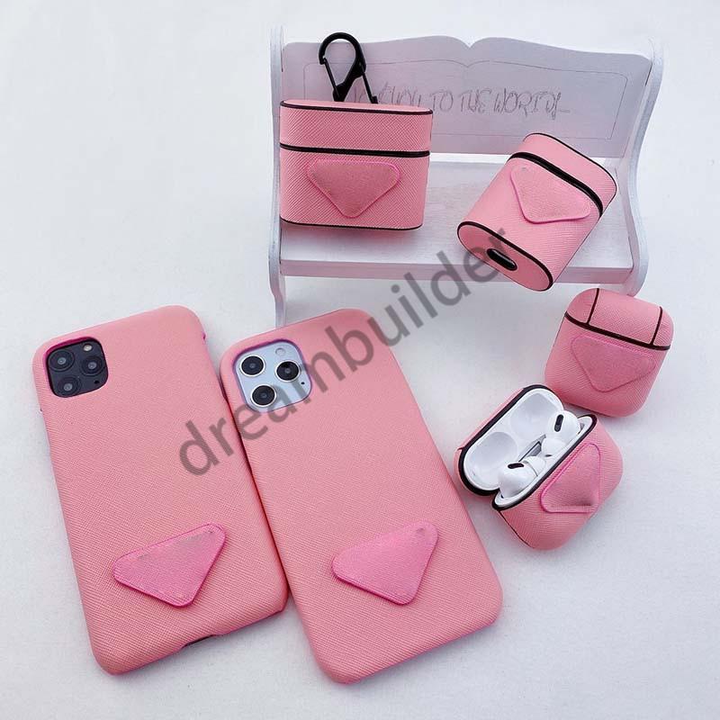 Designer Moda Capas de telefone para iPhone 12 Pro Max 11 XR XS Max 7/8 Plus PU Couro Shell para Samsung S8 S9 S10 Plus Note 8 9 10 Voltar