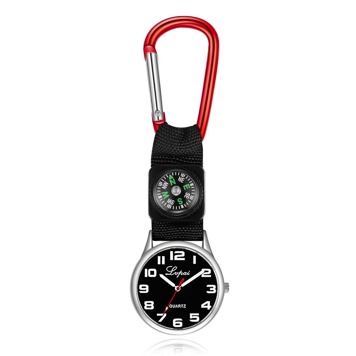 Großhandel 30 stücke Mischtuch Mode 37mm x 7mm 34g Quarz Damenuhr Frauen Kinder Studenten Freizeit Krankenschwester Taschenuhren CH021