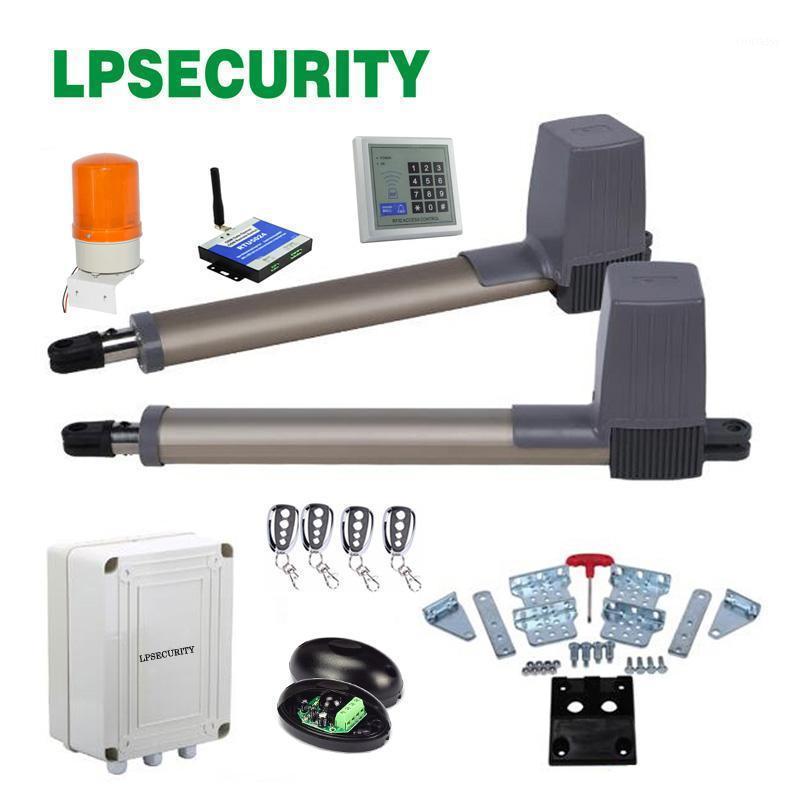 LPSecurity 4 Télécommandes Télécommandes Porte-portes Swink Portail Moteurs pour actionneur linéaire Swing avec pièces en option1