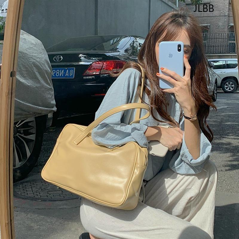 Weiche Kapazität Messenger Bags Dame Big Bag Luxus Lässige PU-Leder Frauen Handtaschen Designer Kissen Totes Schulter Große Geldbörsen Tlufj
