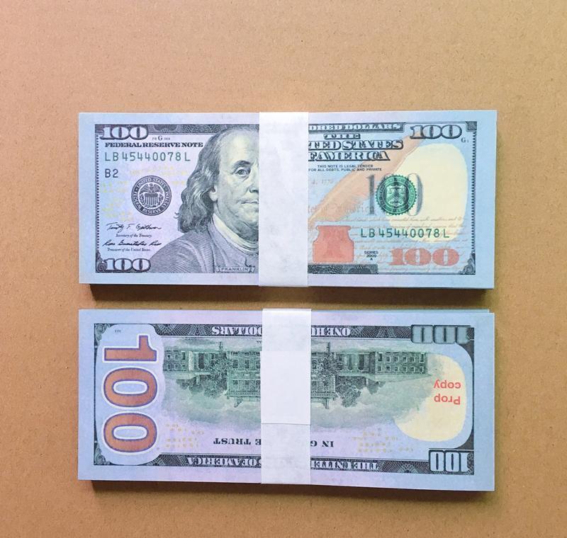 20 100 US-Film Geld Faux Prop Euro 10 20 Euro 50 Billet Atmosphäre Wiedergabe Gefälschte Geld Diskothek Bar Billet
