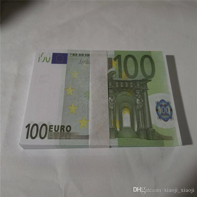 Отдых взрослых атмосфера 100euro rop деньги дети игрушки бар партии трюк банкноты подарки украшения сюрприз оптом оптом 31 xhwww