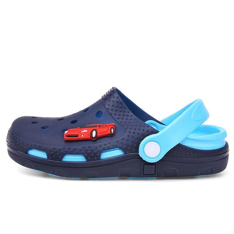 Atletik Açık 2021 Mini Çocuk LED Terlik, erkek Kızlar Plaj Yaz Çocuk Antiskid Yumuşak Alt, Bebek Banyoları Soğuk Çekme