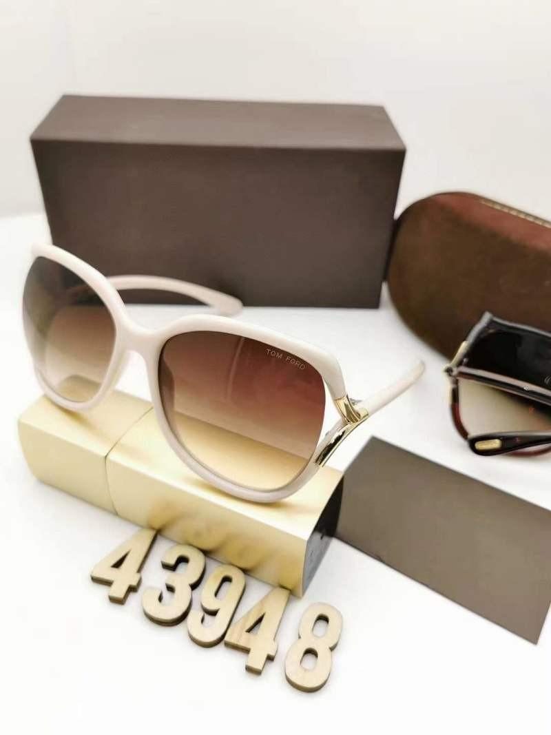 Luxus Top Qualtiy Neue Mode Frauen 439 Tom Sonnenbrille Für Mann Frau Erika Eyewear Ford Designer Marke Sonnenbrille mit Box