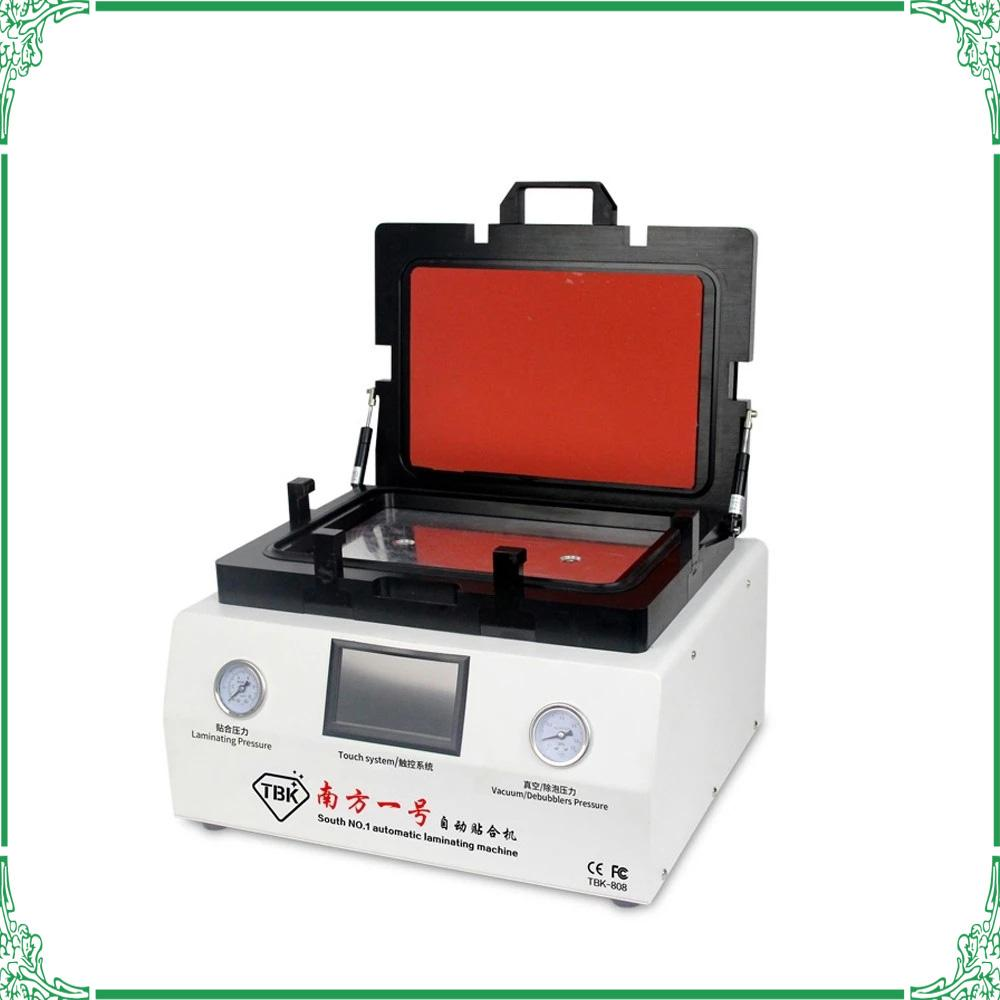 """13"""" Area di laminazione TBK 808 LCD Screen Bubble automatico Rimozione Macchina OCA vuoto macchina di laminazione a gas blocco automatico"""