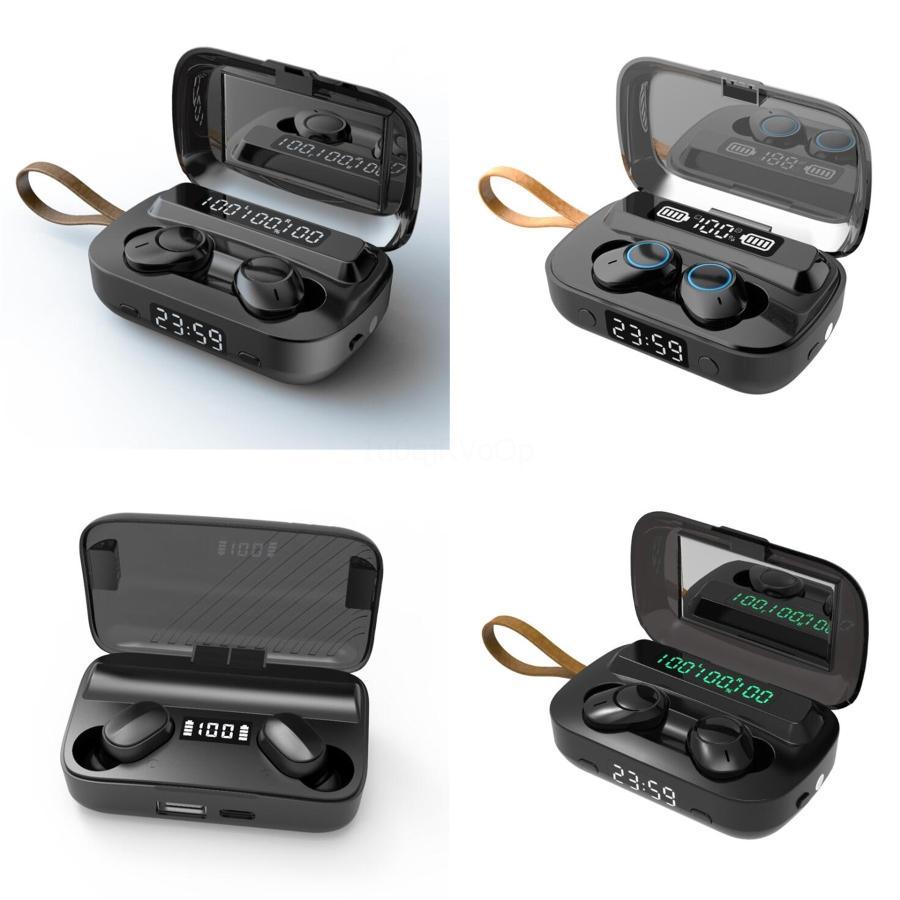 I12 TWS Bluetooth 5.0 Ture sans fil écouteurs stéréo casque Touch Control biaural Casque Auto Pairing Auto Power Up Pop-Up Earph # 331