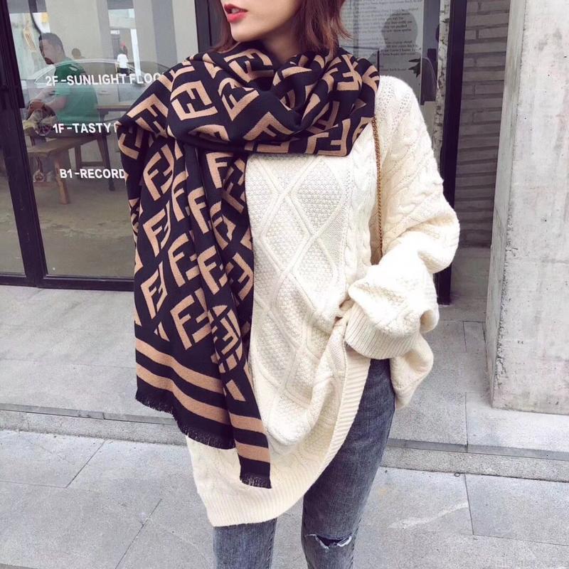 Neuer Stil East Gate FF Schalfrauen Kaschmir warmen Herbst und Winter 335 Gramm Korean Schal Schal