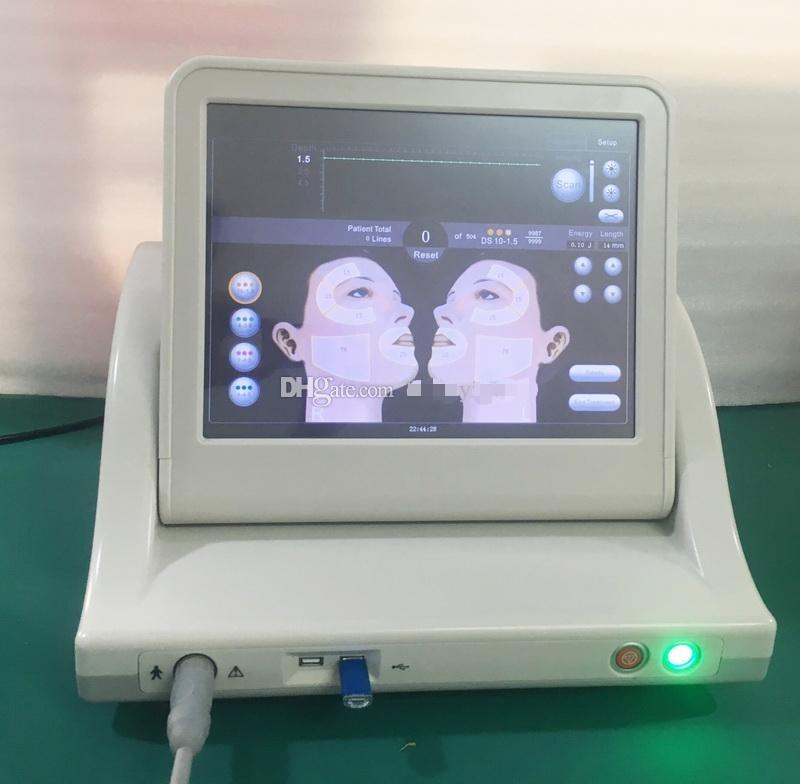 Professional Ultrasound Hifu High Intensity Focused Ultrasound Machine With Three Or Five Cartridges For Face Lift HIFU Body Slimming