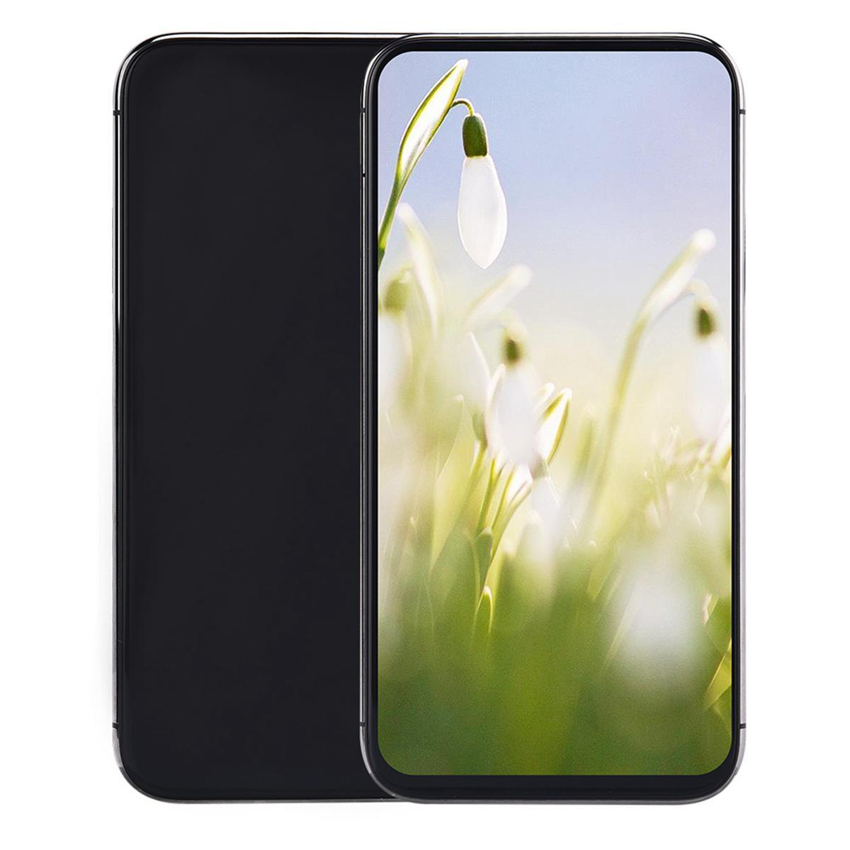 256 ГБ 512 ГБ I12 PRO MAX 5G смартфон 6,5 дюйма Все экран 3G WCDMA Quad Core Core MTK6580 Android OS 1 ГБ ОЗУ 4 ГБ РЗИ ID ID беспроводной зарядки 3 камеры Smartphone Free UPS TNT