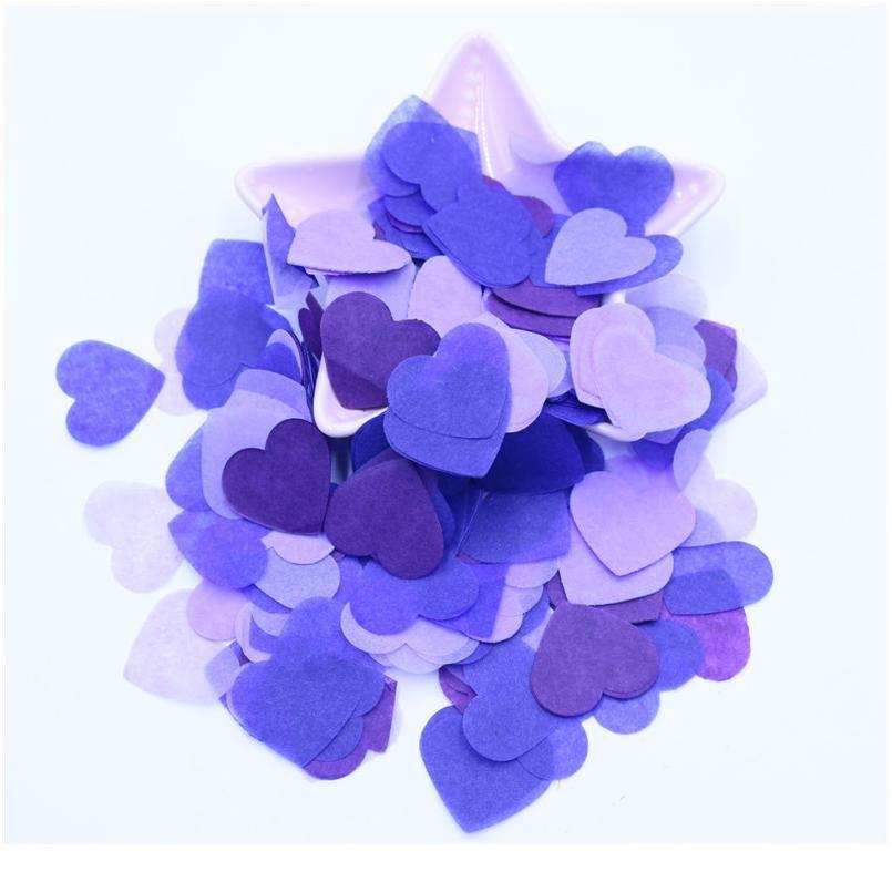 10g Per Bag 1 Inch Tissue Paper Heart Confetti Filling Balloons Baby Shower Wedding Birthday Party Table Dec jllOYY