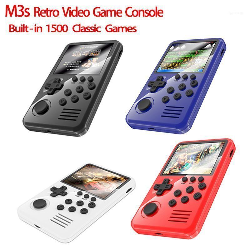 M3s Retro Portable Mini Handheld 16-Bit 3.0 Inch Color TFT Kids Color Game Player Built-in 15001