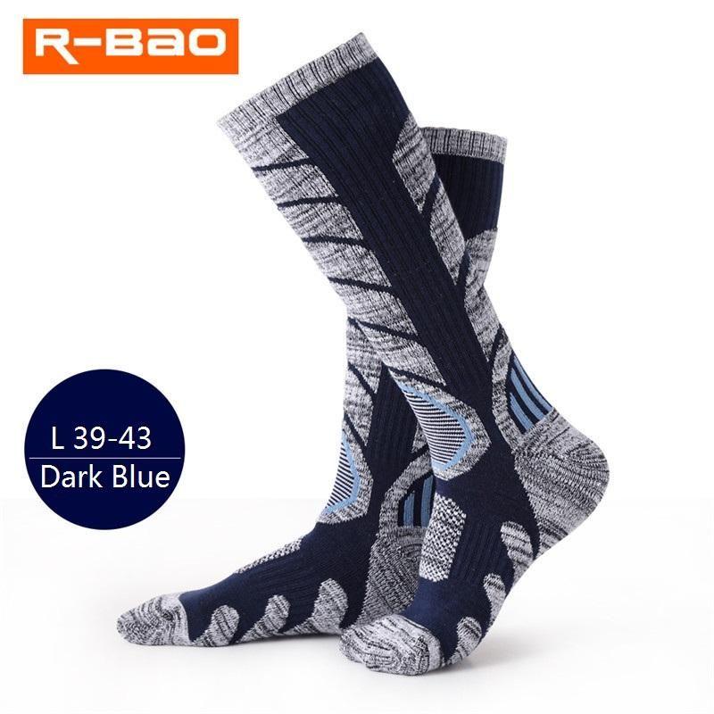 Spor Çorap 1 Pair Kış Sıcak Erkek Kadın Termal Kayak Kalın Pamuk Snowboard Bisiklet Futbol Uzun Çorap