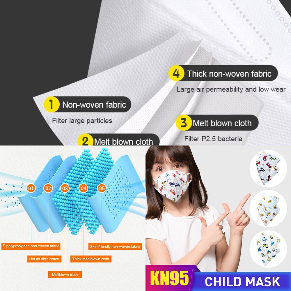 Anpassungsmasken sind Masken für Kinder mit glatten Linien und keine Lücken für Staub. DHL kann sie quicsg liefern