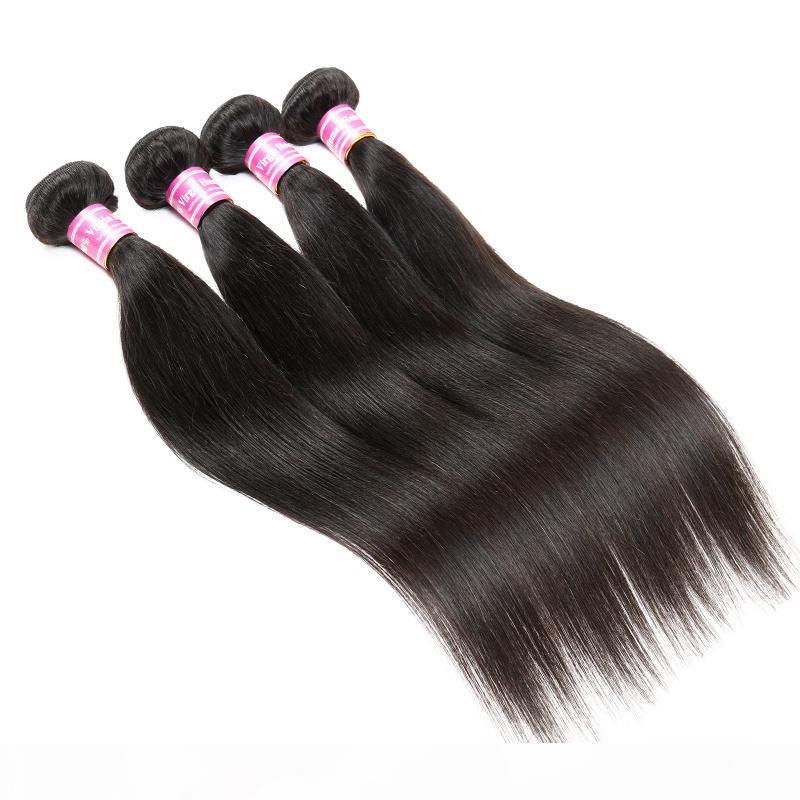 Бразильский Камбоджийский Монгольский Малайзийский Индийский Перуанские Человеческие Волосы Weaves на продажу Оптовые Оптовые наращивания для волос Девы Прямые пучки