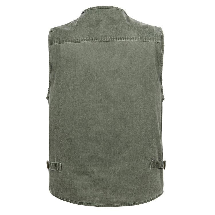 2020 AUTUMN Vêtements printemps manches Veste en jean Gilet Photographie Poisson Homme mince Waistcoat Taille XL-4XL 5XL 6XL 7XL