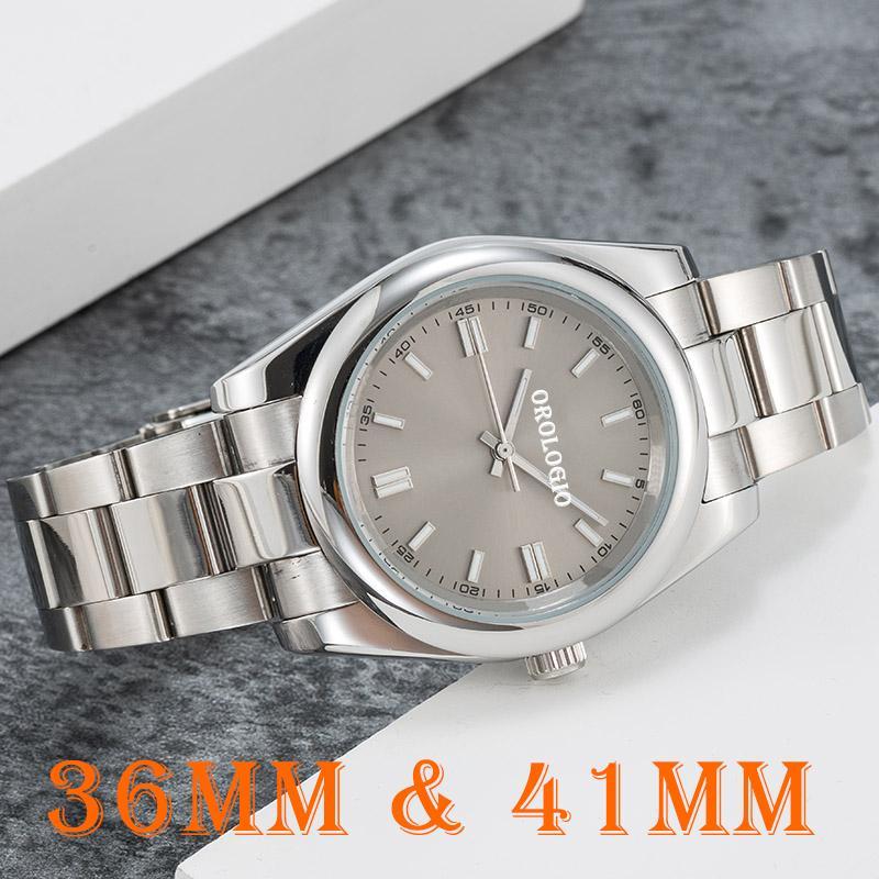 【 code: OCTEU06 】Montre de Luxe Mens Mãos Mecânicos Mecânicos Relógios 41mm Safira De Aço Inoxidável Super Luminosa 5ATM À Prova D 'Água U1 Fábrica Relógios de Relógios