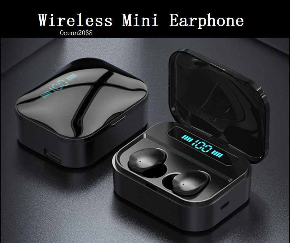 TWS auricolare Bluetooth stereo senza fili Earbus Mini Hi-Fi Sound Sport auricolari vivavoce Gaming Headset con la scatola di vendita al dettaglio