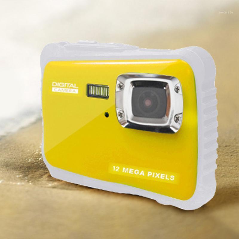 Presente Ao Ar Livre Crianças Câmera Fotografia Fotografia de Natação À Prova D 'Água Operado Anti Flash Digital Flash Luz 2,0 polegadas Tela HD1