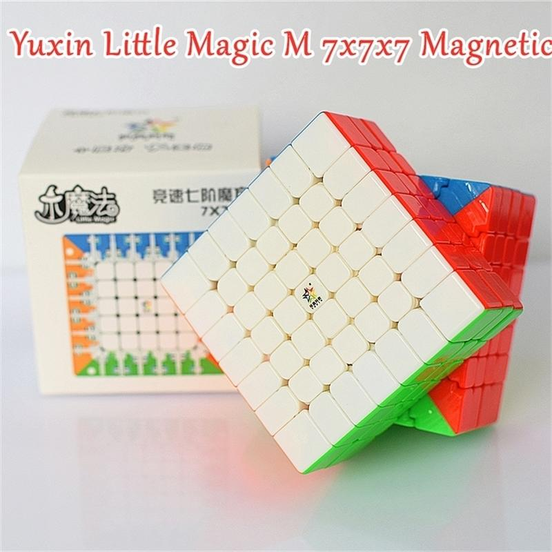Yuxin Little Magic M Magnetic 7x7x7 Magic Cube 7x7 Speed Cube 4x4x4 5x5x5 Puzzle Cube 6x6x6 Cubo Magico 4x4 5x5 6x6 201224