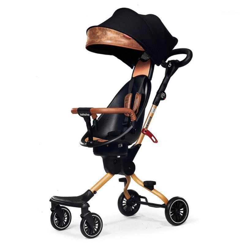 Cochecitos # Cochecito de bebé Luz plegable Peso de la luz de dos vías High Landscape High Landscape Frift Artifact Buggy Travel Cart1