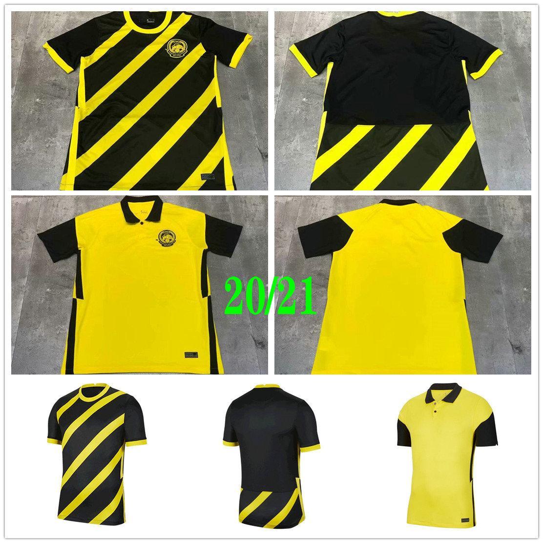 2021 2022 National Team Malaysia Soccer Jerseys Safawi Rasid Talaha Norshahrul Ldlan Custom 21 22 Home Away Adult Football Shirt Uniform