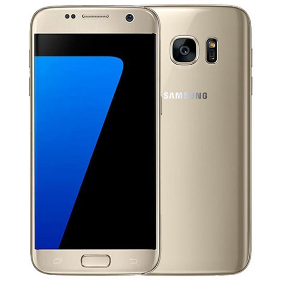 Rinforzato originale Samsung Galaxy S7 G930F G930A 5.1 pollici Quad Core 4 GB RAM 32GB ROM 12MP 4G LTE Phone GRATIS DHL 1PCS