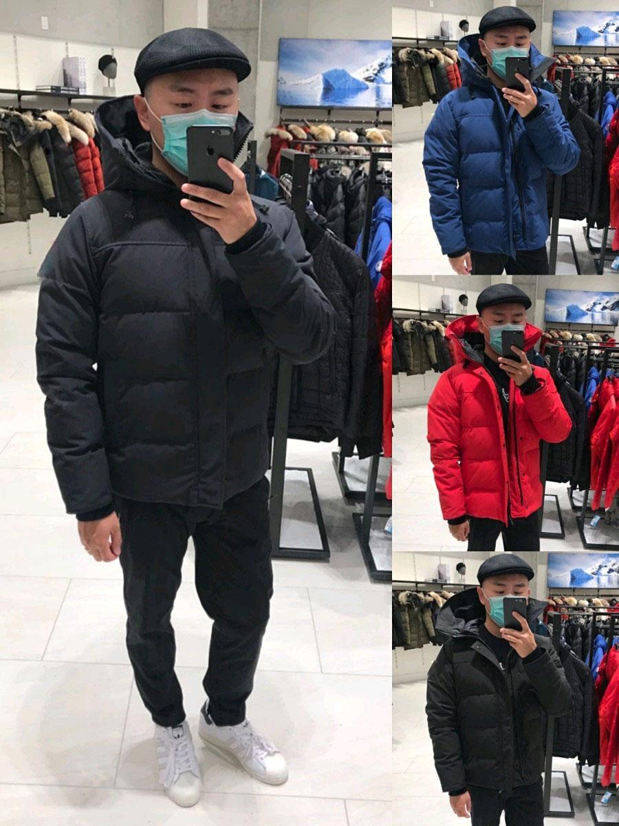 2020 Nouvelle veste d'hiver Meilleure qualité Parka Manteau Vente chaude Hommes Hiver Down Veste en plein air Épais épais de plume chaud homme hiver