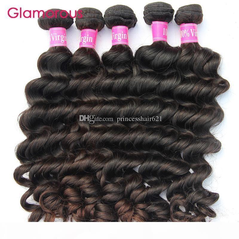 Glamorous Wholesale Brazilian Hair Weaves Most Populr Natural Wave Hair Weaves 10 Bundles 100% Original Human Hair Extensions Free Shipping