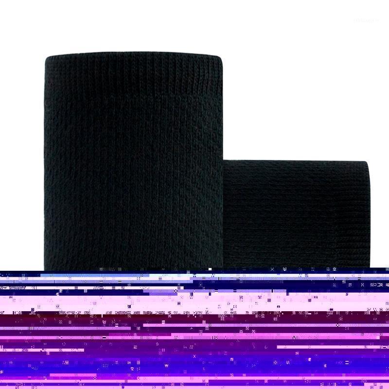 Suporte de pulso 1 par de esportes protetora pulseira exercício cinta manguito macio respirável (preto) 1