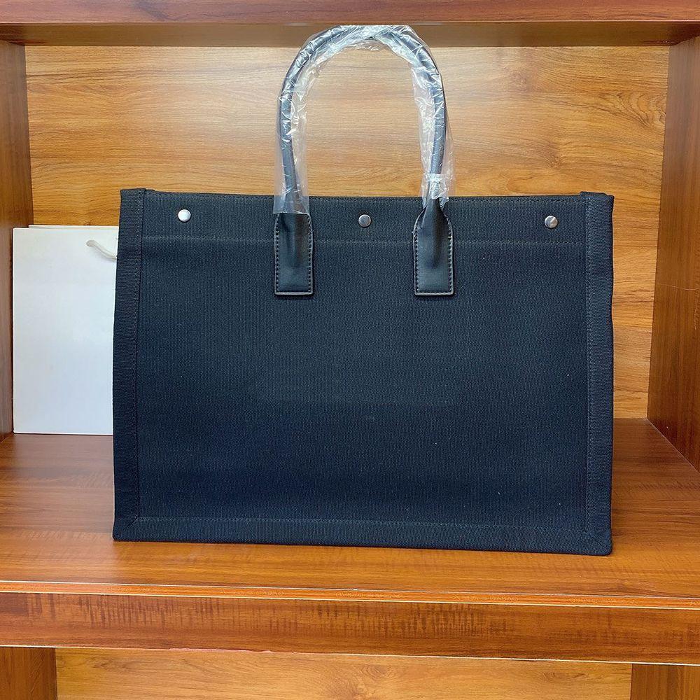 A + 48 cm Designer Shopping Bags Borse Borse 2019 Brand Fashion Designer di lusso Borse Stampato Borse da borse da borse da tela ricamate
