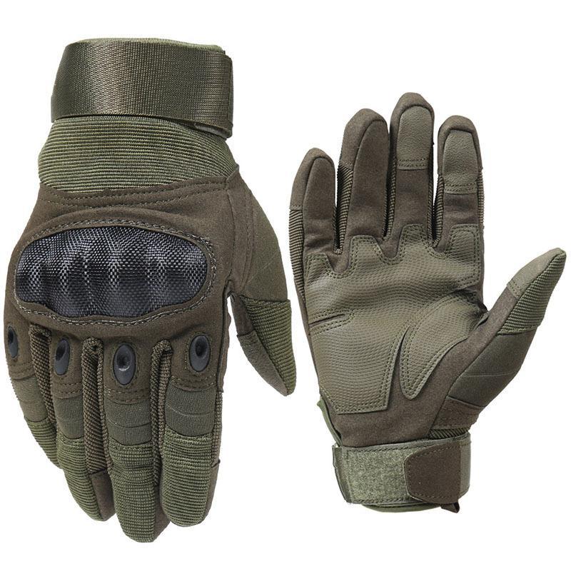 MagComsen Тактические перчатки Мужчины Полный Пальц Твердая Оболочка Полиция Боевые Перчатки Пейнтбол Airsoft Оборудование AG-YWGC-01
