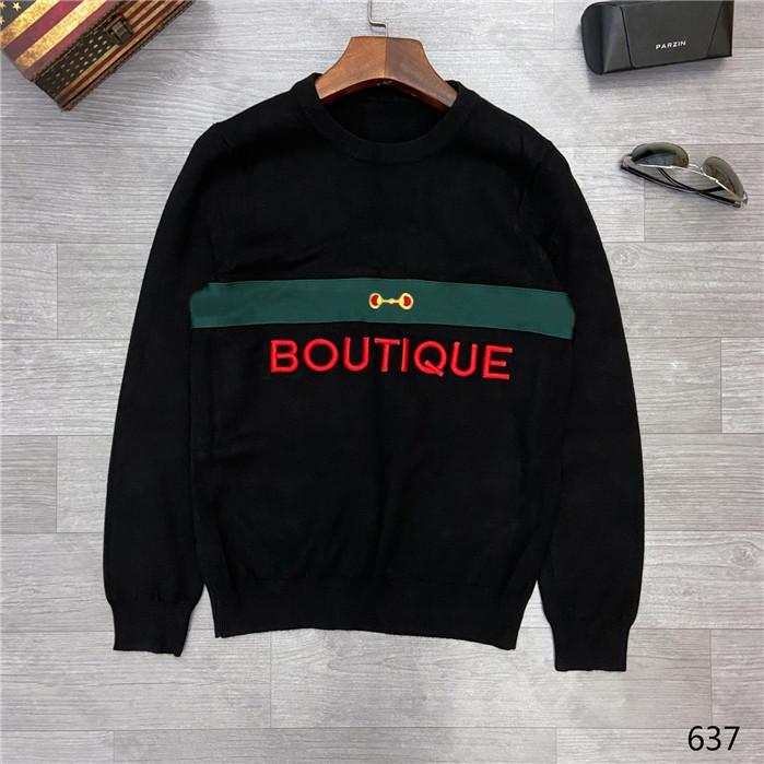 20ss diseñador para mujer para hombre del suéter LUXE Cartas Pullover Hombres sudadera con capucha de manga larga activa del bordado de géneros de punto ropa de invierno