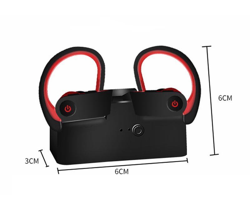 Sport-Kopfhörer Bluetooth 5.0 Wireless-Earbuds IPX7 wasserdicht für Laufsport Workout Bluetooth Kopfhörer 5.0 Wir