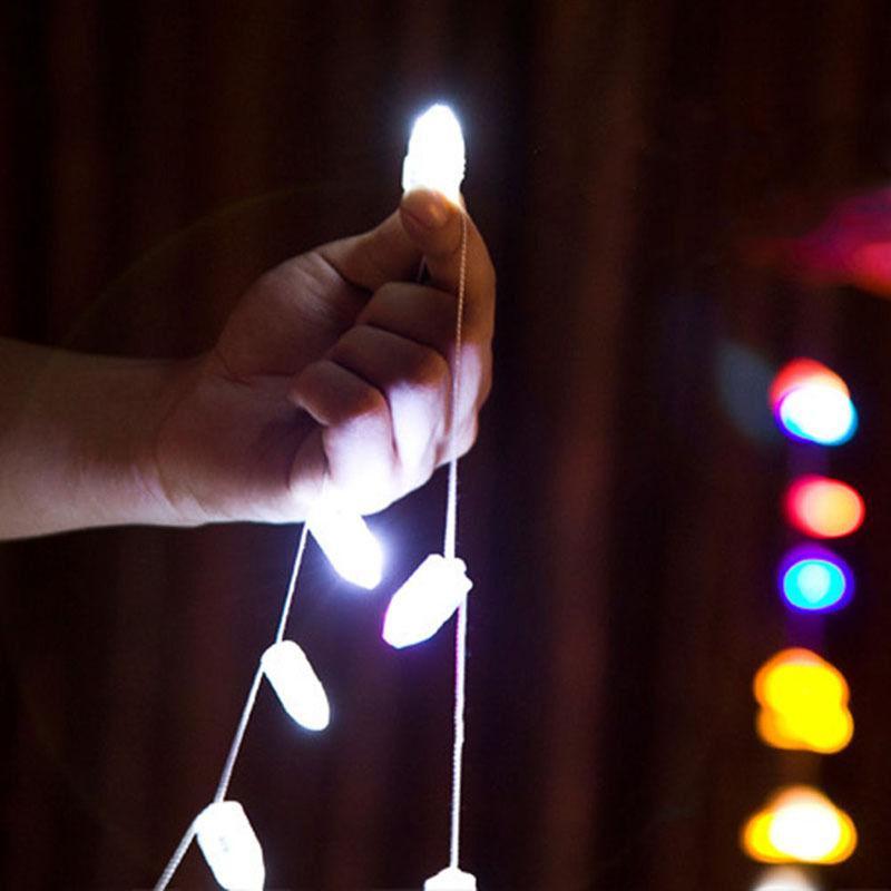 LED RGB فلاش مصابيح البالون أضواء للورق فانوس البالونات متعدد الألوان عيد الحب الديكور الزفاف